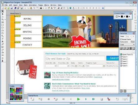 Флэш для веб дизайнов